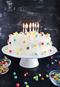 Funfetti Buttermilk Birthday Cake Pictures, Photos, and