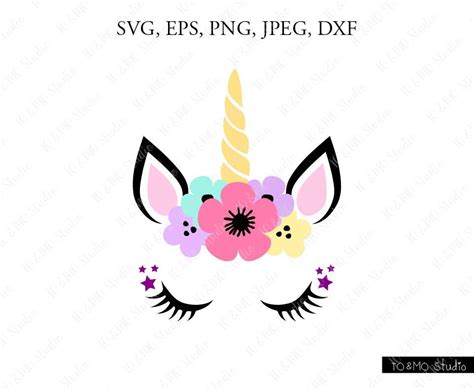 Unicorn kit svg, unicorn svg, unicorn head svg, unicorn horn, cute unicorn with eyelashes free unicorn svg cut files for the silhouette cameo and cricut. Unicorn SVG Unicorn head Svg Unicorn Clip Art Unicorn Face