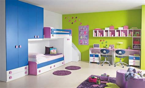 Happy And Colorful Kids Rooms Design Ideas