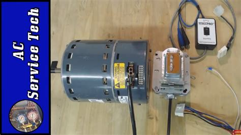 testing ecm variable speed fan motor    tester