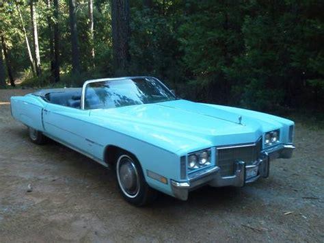Buy Used 1971 Cadillac Eldorado Convertible A Classic