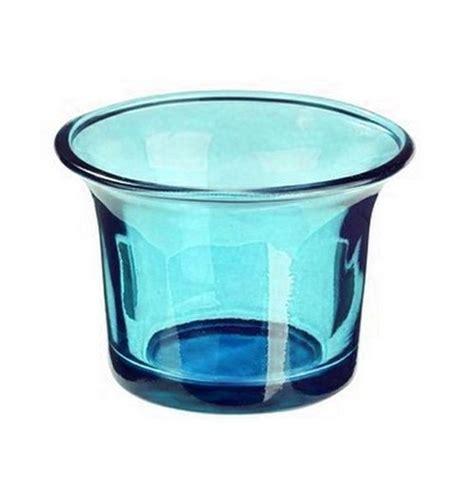 Photophore En Verre Photophore En Verre Turquoise 1001 D 233 Co Table