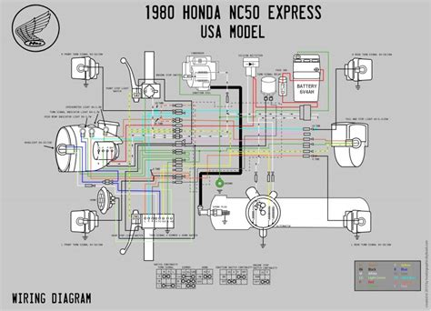 Cb750 93 Wiring Diagram by 1980 Honda Express Nc50 Build Questions Moped Army