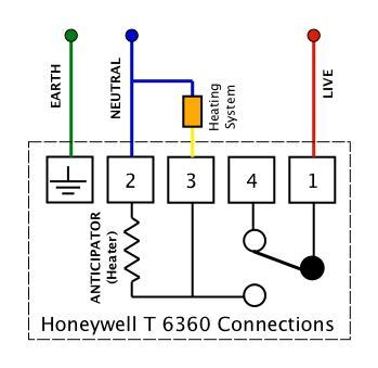 solved wiring  drayton digistat    honeywell