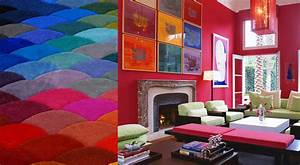 How does colorful interior design affect our mood in the