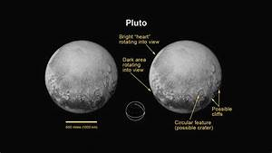 Pluto and Charon Show Differences In Surface Material | Space