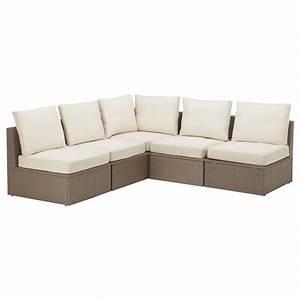 Sofa Füße Ikea : arholma corner sofa 3 2 outdoor brown beige 206 206x76x66 cm ikea ~ Bigdaddyawards.com Haus und Dekorationen