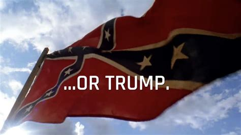 lincoln groups  anti trump attack ad flag  treason