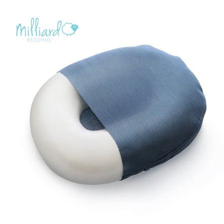 donut pillow walmart milliard foam donut cushion orthopedic ring pillow with
