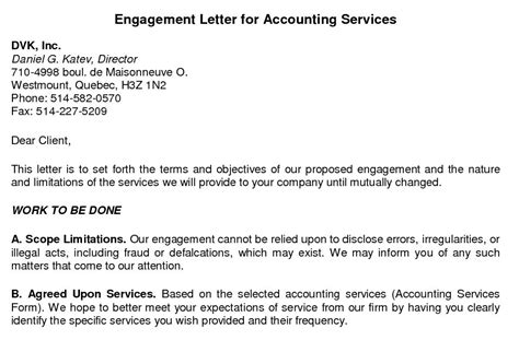 bookkeeping engagement letter template spreadsheettemple