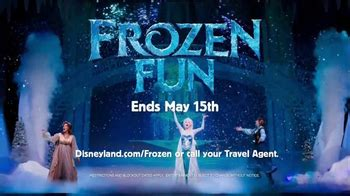 disneyland frozen fun tv commercial    time