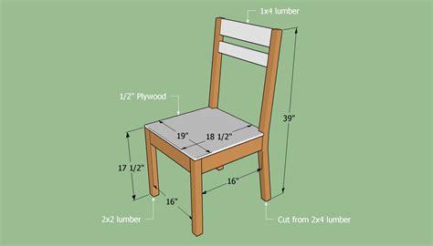 build  simple chair howtospecialist