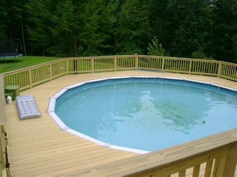 decks pools tips  building  deck   pool