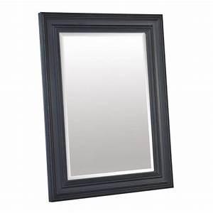Miroir Cadre Noir : miroir cadre noir ~ Teatrodelosmanantiales.com Idées de Décoration