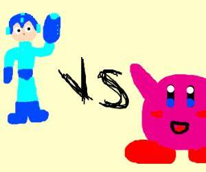 Kirby vs Iron man