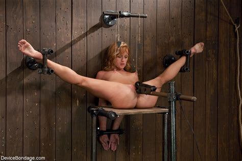 Be Gentle It S Her First Bondage Scene Bondage Luscious
