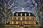Colonial Williamsburg Capitol Building Photograph by Gene ...
