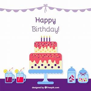 Birthday cake icon Vector   Free Download