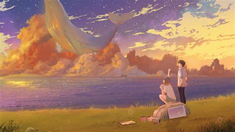 梦幻的动漫场景二次元2K超清电脑桌面壁纸大全_桌面壁纸下载 ...