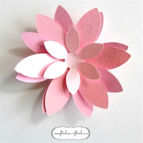 Paper Flower Template Diy Paper Flowers Templates Www Imgkid The Image