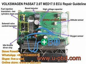 How To Repair Volkswagen Ecu Bosch Med17 5 Motronic Ecu