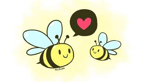 medibang paint pro cute cartoon bee drawing youtube