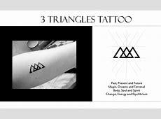 Signification Tatouage Double Triangle Tattooart Hd