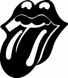 Rolling Stone Mouth | Black by natmiki on DeviantArt
