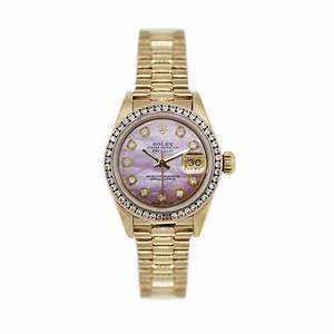Rolex Datejust 6917 MOP all Gold Presidential Watch-Boca Raton