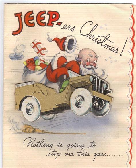 world war ii christmas card santa   unstoppable ww