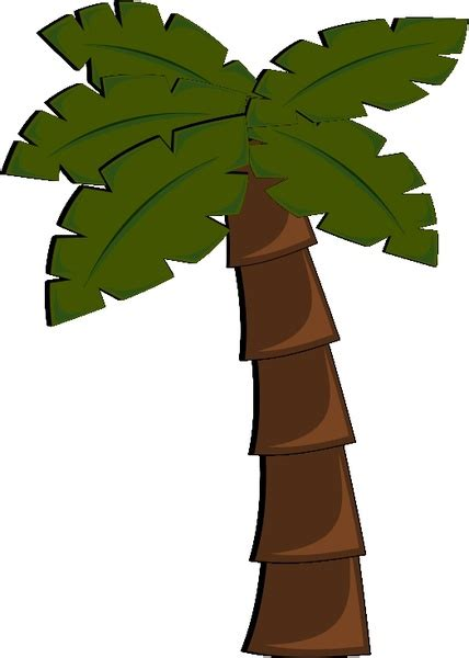 palm tree template palm tree free vector in open office drawing svg svg