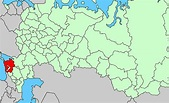 Russia Map Krasnodar