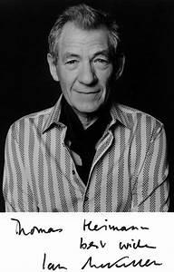 Sir Ian McKellen Autograph