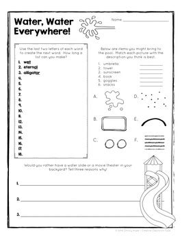 Museum lesson plans can be a powerful way for students to synthesize information. Brain Food: The Original - Printable Activities for Creative Thinking