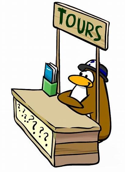 Penguin Tour Tours Guide Standing Wiki Clip