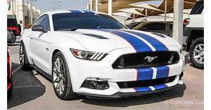 Ford Mustang GT 5.0 for sale: AED 85,000. White, 2015