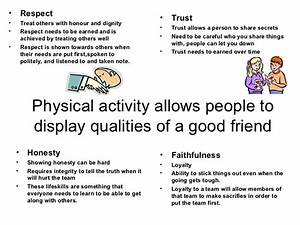 Qualities of a good friend essay