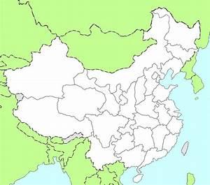 Carte Du Monde Noir : carte noir et blanc chine carte de la chine en noir et blanc ~ Teatrodelosmanantiales.com Idées de Décoration