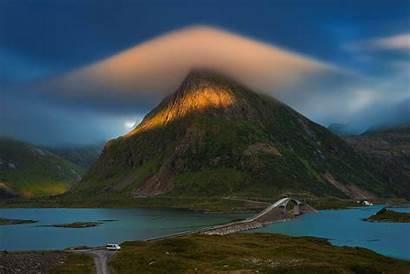 Norway Lofoten Island Mountain Holiday Islands Travel