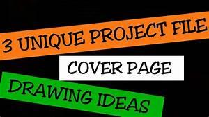 Project File Cover Design ! Project File Cover Decoration