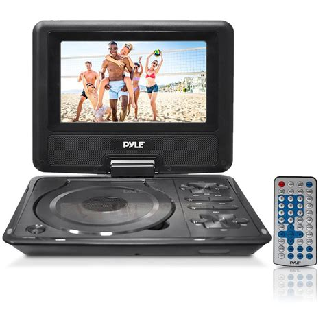 Portable Dvd Player For Car With Usb by New Pyle Pdh7 7 Quot Portable Swivel Tft Dvd Player Usb Sd