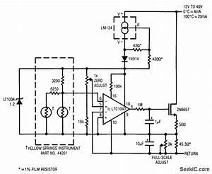 Oven Temperature Controller - Control Circuit