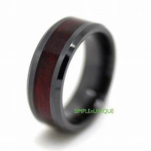 ceramic ring mens wedding band mens ring promise rings With wedding band rings for men