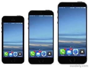screen iphone two new iphone models to screens bigger than 4 5 and 5