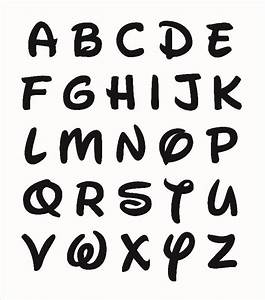 Walt Disney Font Letter Printables Pictures To Pin On