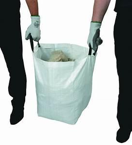 Sacs à Gravats : lot de 2 sacs gravats avec poign es ~ Nature-et-papiers.com Idées de Décoration