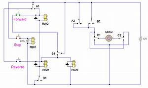 How To Build Dc Motor Reversing Circuit  Circuit Diagram