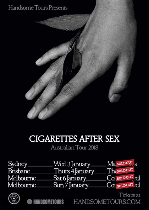 CIGARETTES AFTER SEX Handsome Tours