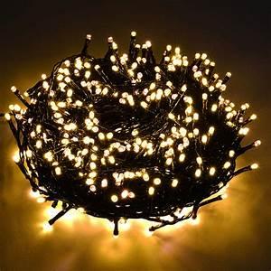 Lichterkette Außen Weihnachten : led glimmer lichterkette golden warmweiss weihnachten au en innen gold ebay ~ Frokenaadalensverden.com Haus und Dekorationen