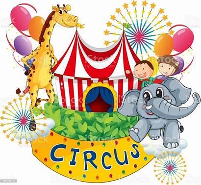 Circus Animals Animal Child Balloon Backgrounds